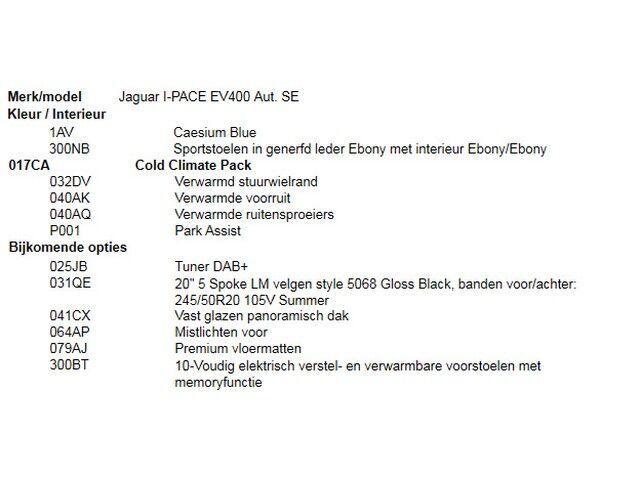 Jaguar I-Pace EV400 Aut. SE 4/5