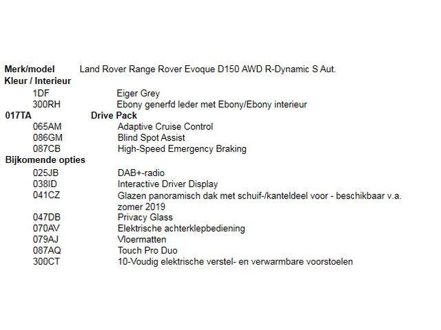 Land Rover Range Rover Evoque D150 AWD R-Dynamic S Aut. 4/5