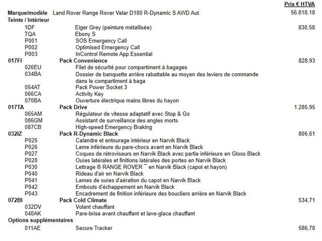 Land Rover Range Rover Velar R-Dynamic S - D180 5/7