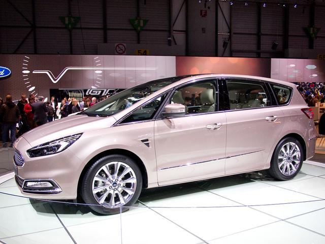Ford S-Max Titanium Facelift EcoBlue 2,0 150PS 1/4