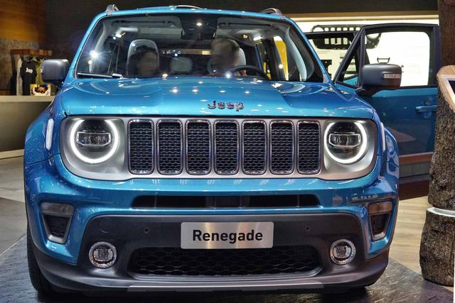 Jeep RENEGADE Limited 1.3 Turbo 180PS/132kW AT9 4x... 4/7