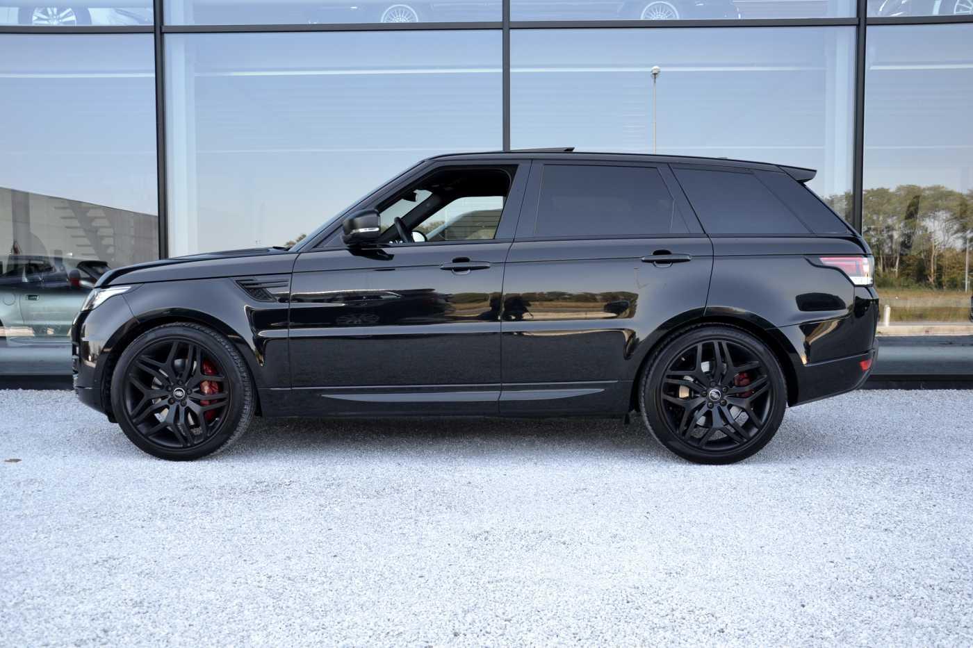 Land Rover Range Rover Sport SDV8 STEALTH **Lichte Vracht** Black Black