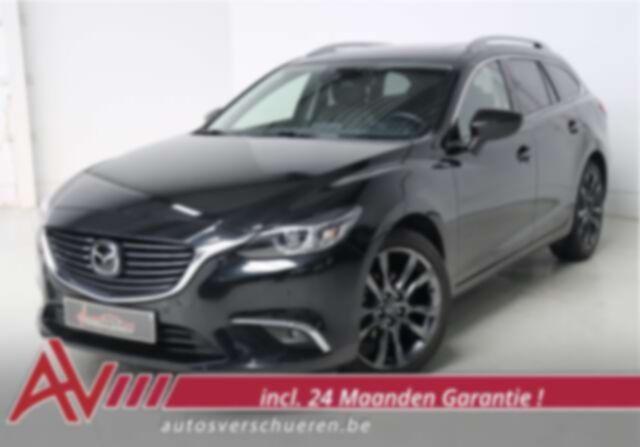 Mazda 6 Wagon 2.2 D Skycruise 6AT ** Open Dak-HUD-ACC-BOSE