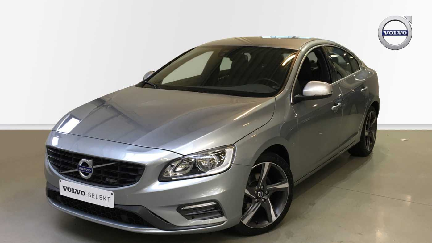 Volvo S60 D4 181pk AUT Kinetic R-Design, GPS, Park Assist Voor- en Achter 1/15