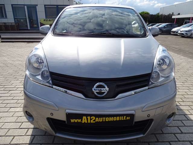 Nissan Note 1.5D // NAV - AC - HALFLEDER - CARPASS - GARANTIE 2/19