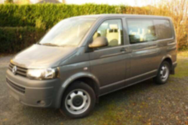 Volkswagen Transporter 14.950€ +Tva-Btw DbleCabine 5Pl 180cv Automatic