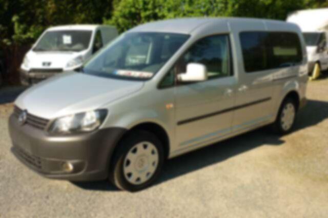 Volkswagen Caddy 9.950 € + TVA/BTW MAXI Dble cabine - 5 Pl