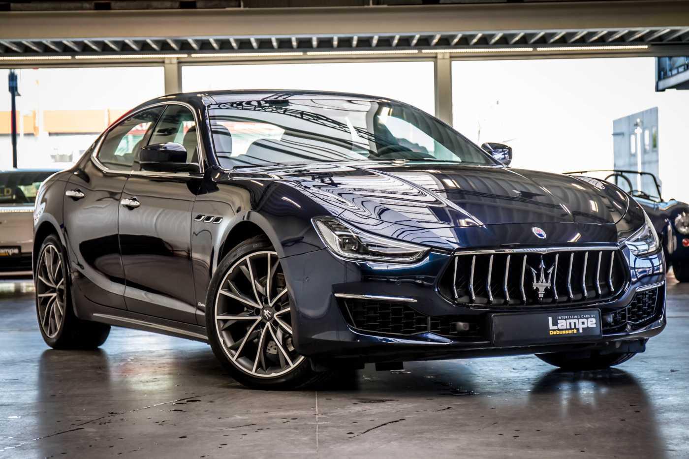 Maserati Ghibli Diesel GranLusso Keyless Sports Exhaust LED Camera 1/29