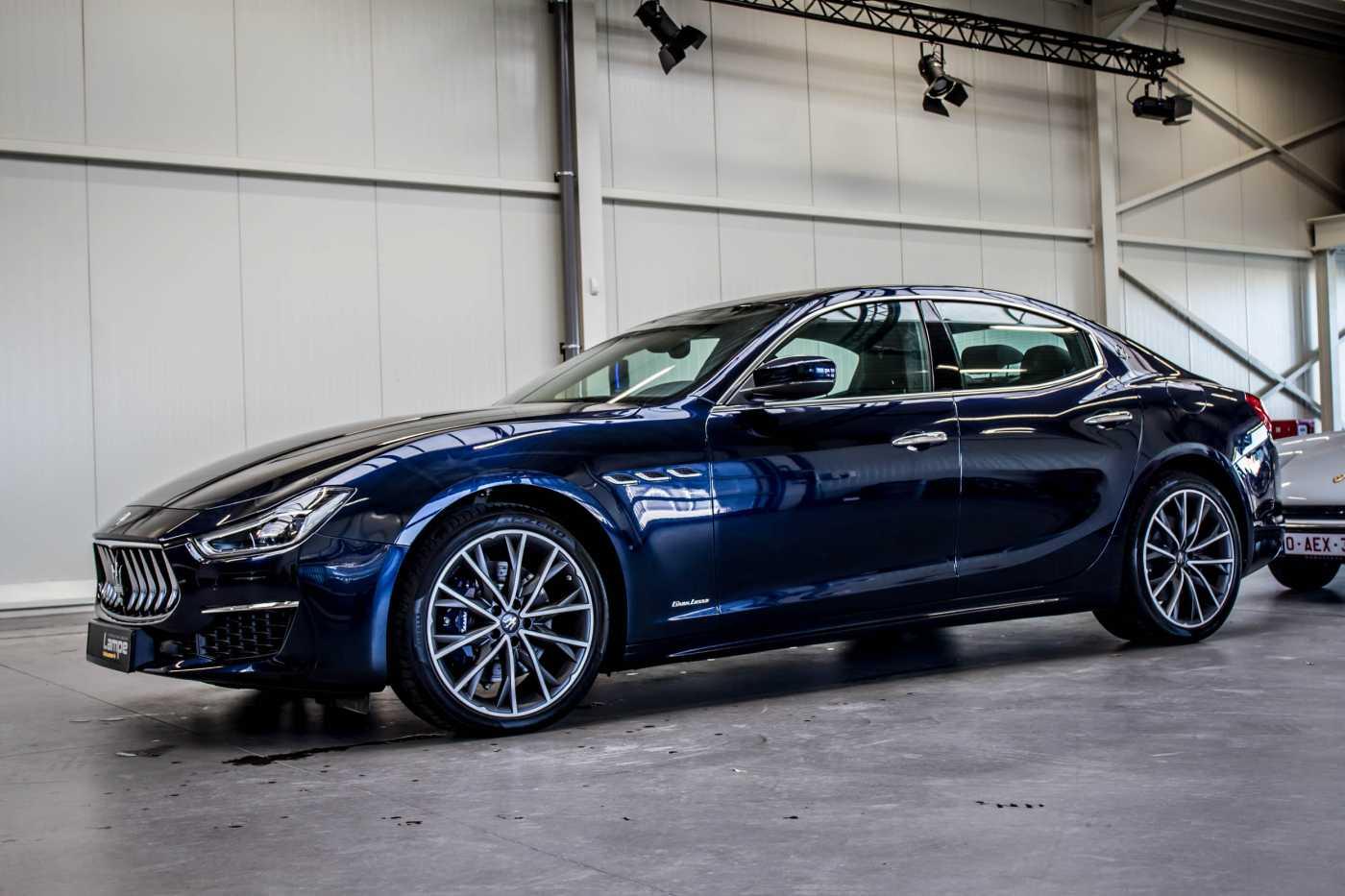 Maserati Ghibli Diesel GranLusso Keyless Sports Exhaust LED Camera 6/29