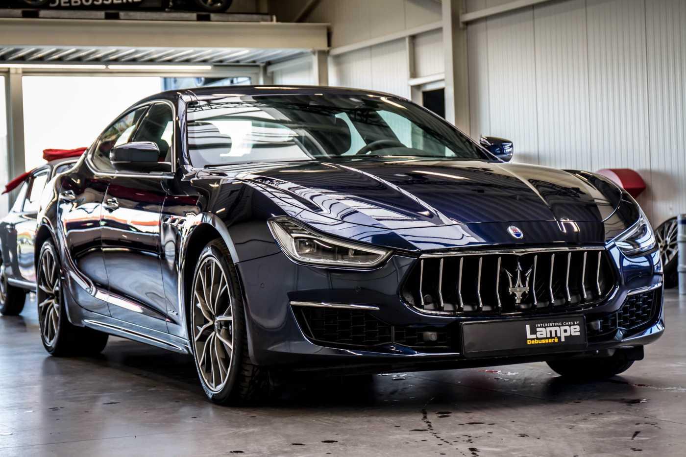 Maserati Ghibli Diesel GranLusso Keyless Sports Exhaust LED Camera 13/29