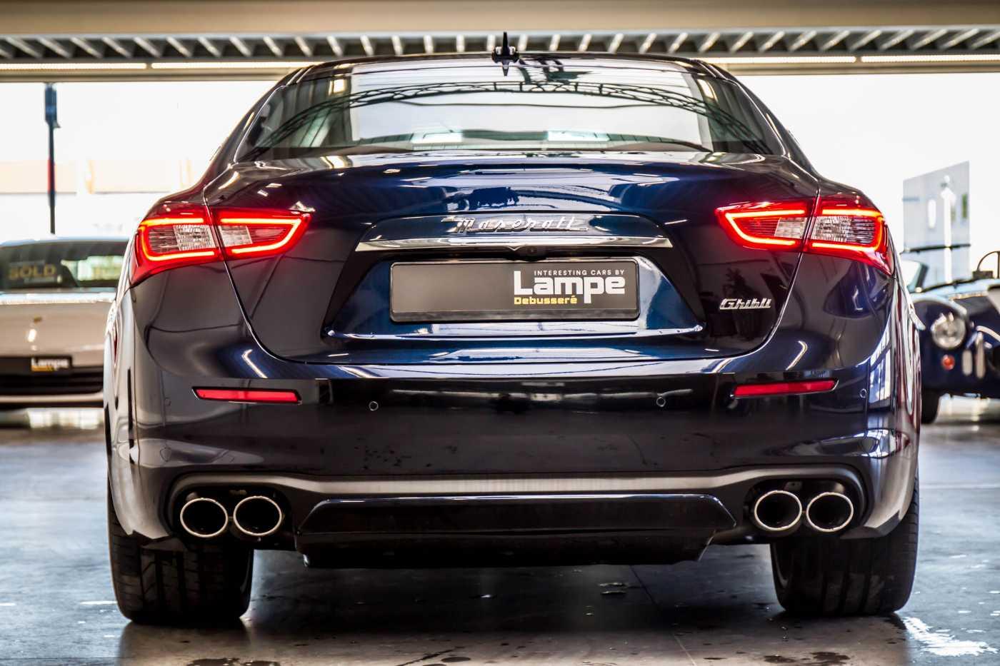 Maserati Ghibli Diesel GranLusso Keyless Sports Exhaust LED Camera 14/29