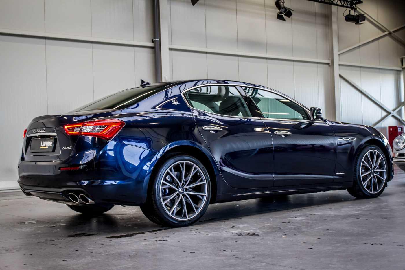 Maserati Ghibli Diesel GranLusso Keyless Sports Exhaust LED Camera 8/29