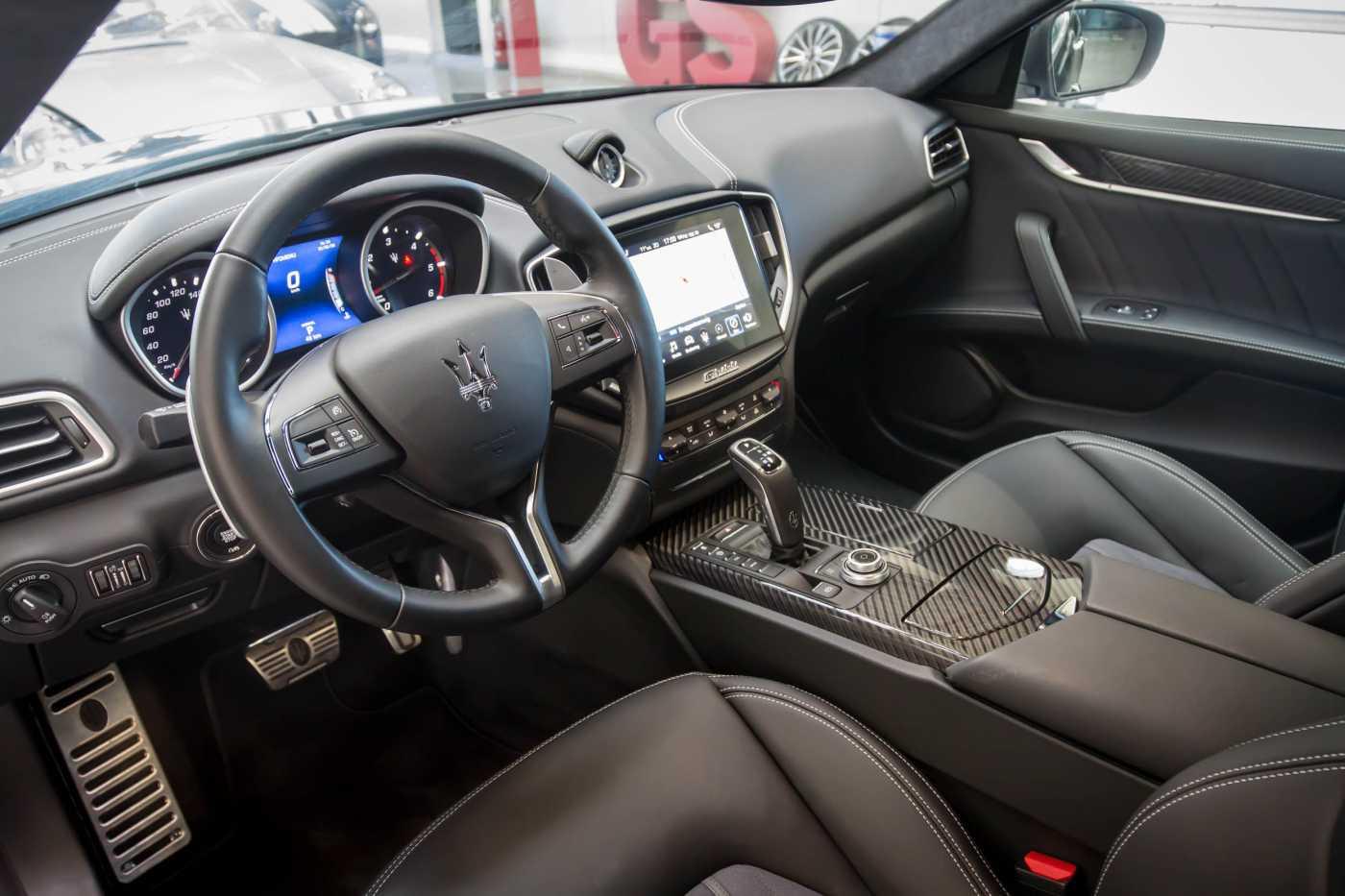 Maserati Ghibli Diesel GranLusso Keyless Sports Exhaust LED Camera 3/29