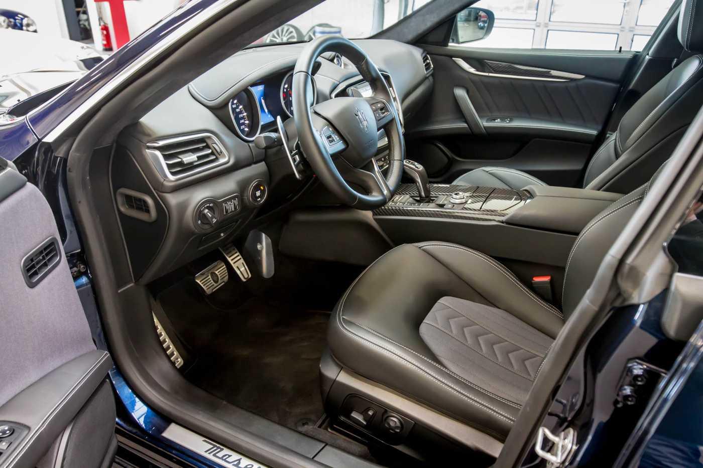 Maserati Ghibli Diesel GranLusso Keyless Sports Exhaust LED Camera 7/29