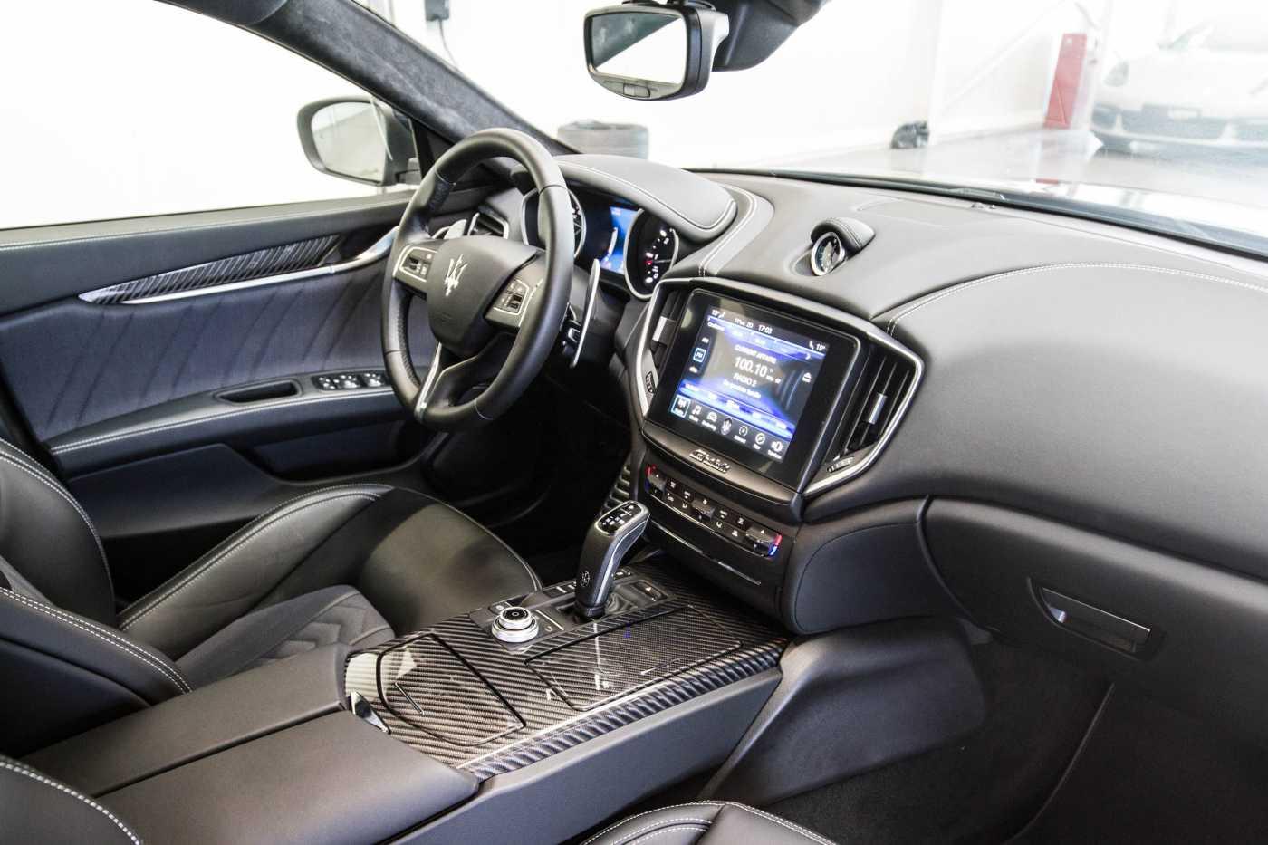 Maserati Ghibli Diesel GranLusso Keyless Sports Exhaust LED Camera 5/29