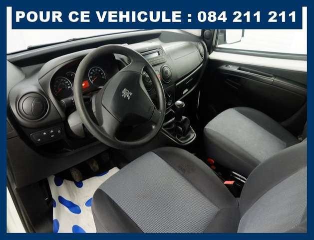 Peugeot Bipper CT+GARANTIE 1 AN : 6490 € ## UTILITAIRE AIRCO 7/12