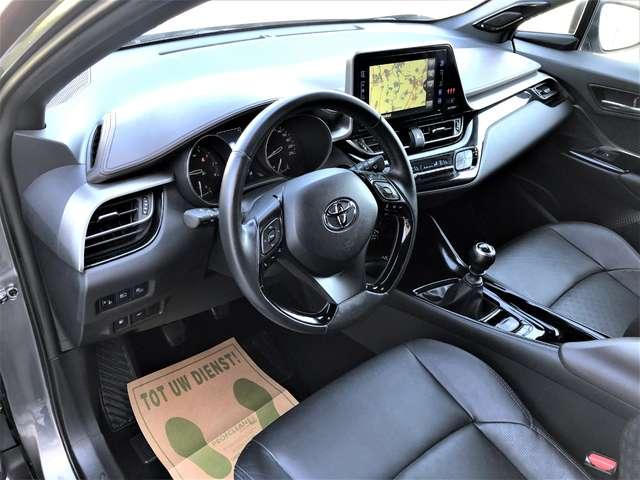 Toyota C-HR 1.2 Turbo 2WD C-Show Verwarmd Leder, Navi, Camera! 9/9