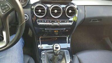 Mercedes C 180 d EURO 6B - LEER/CUIR - GPS - PDC - 12M GARANTIE!