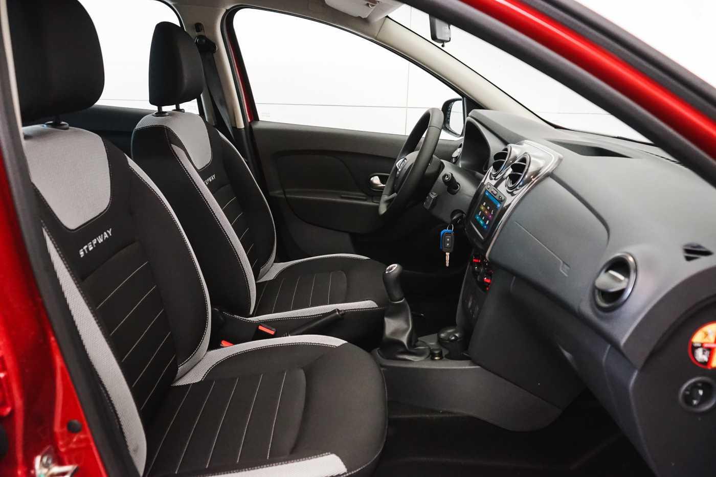 Dacia Sandero 1.0i SCe Stepway // Navi, Bluetooth, Airco, USB 9/27