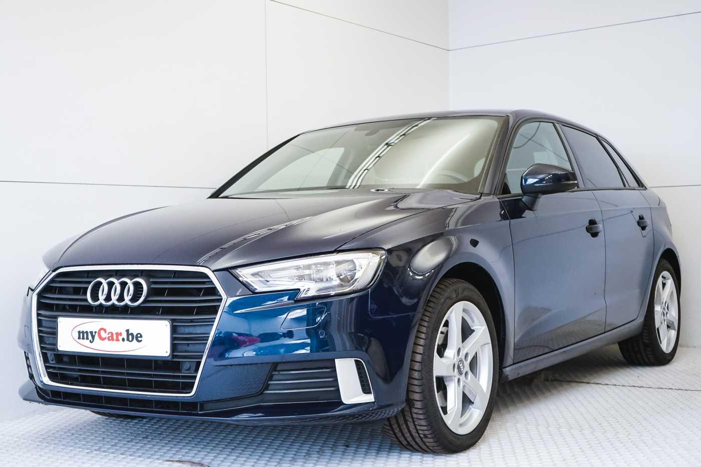 Audi A3 1.6 TDi Sport // dualzone airco, navi, zetelverwarming 1/33