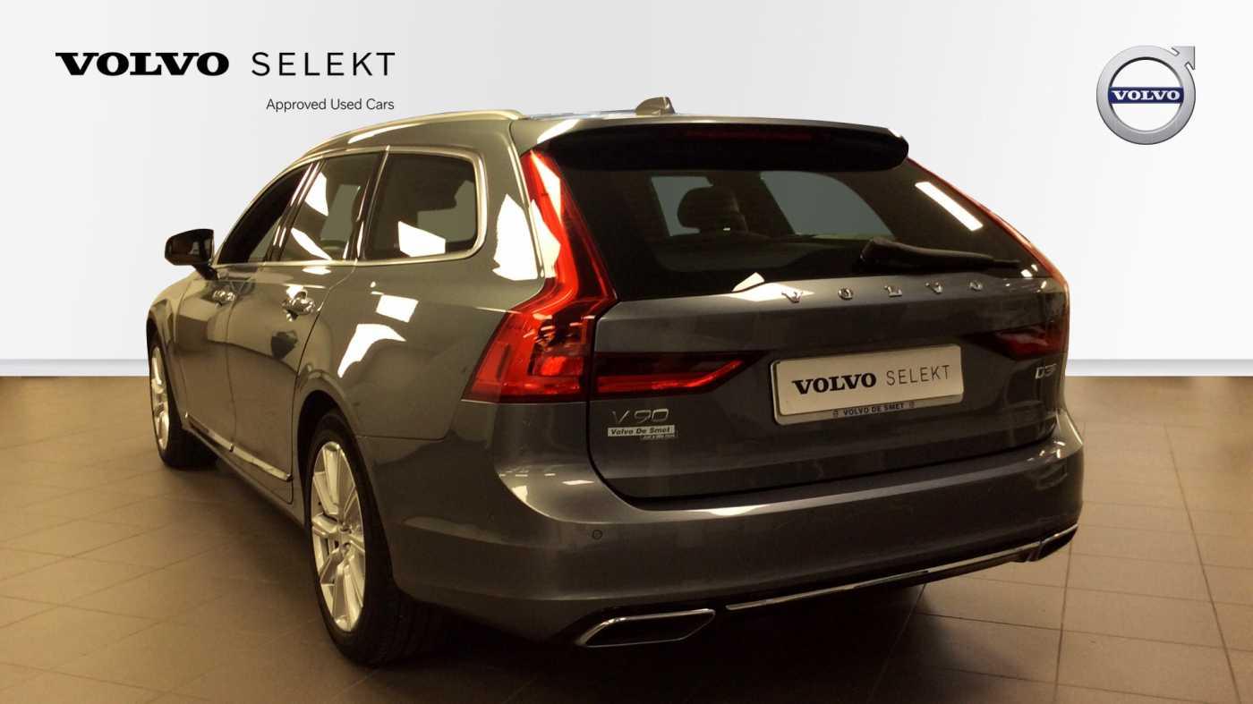 Volvo V90 D3 6-traps Geartronic Inscription + Navi + Leder + .... 4/24