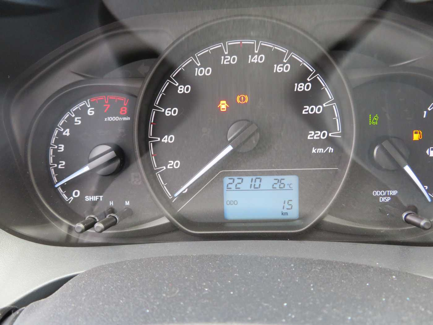 Toyota Yaris 1.0L 6/7