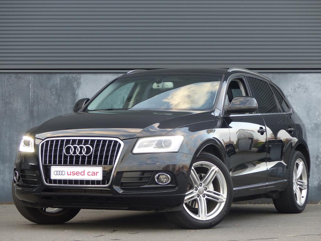 Audi Q5 2L TDI 143pk EU5*XENON*LEDER*GPS*BLUETOOTH*TOPWAY.BE