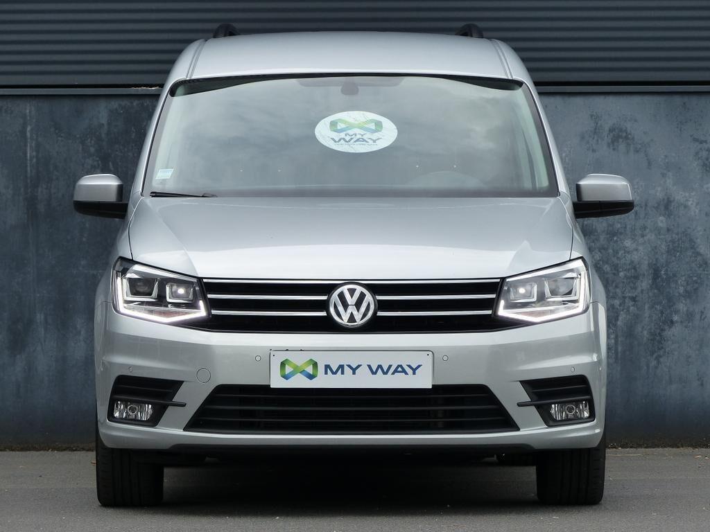 Volkswagen Caddy Maxi DUB.CAB*2L TDI 150pk EU6*5PL*XENON*BLUETOOTH*CRUISE*TOPWAY.BE