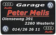 Garage Peter Melis