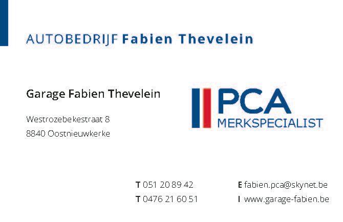 Thevelein Fabien BVBA