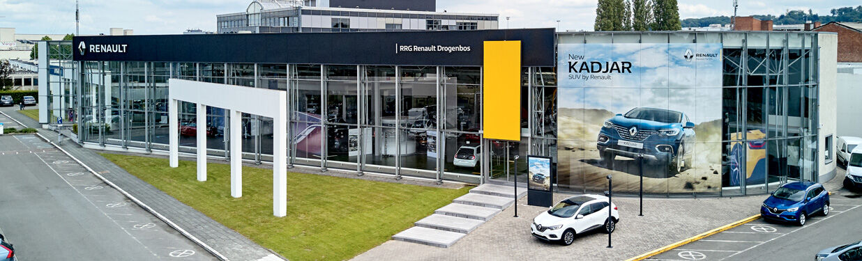 Renault Belgium Stock new cars