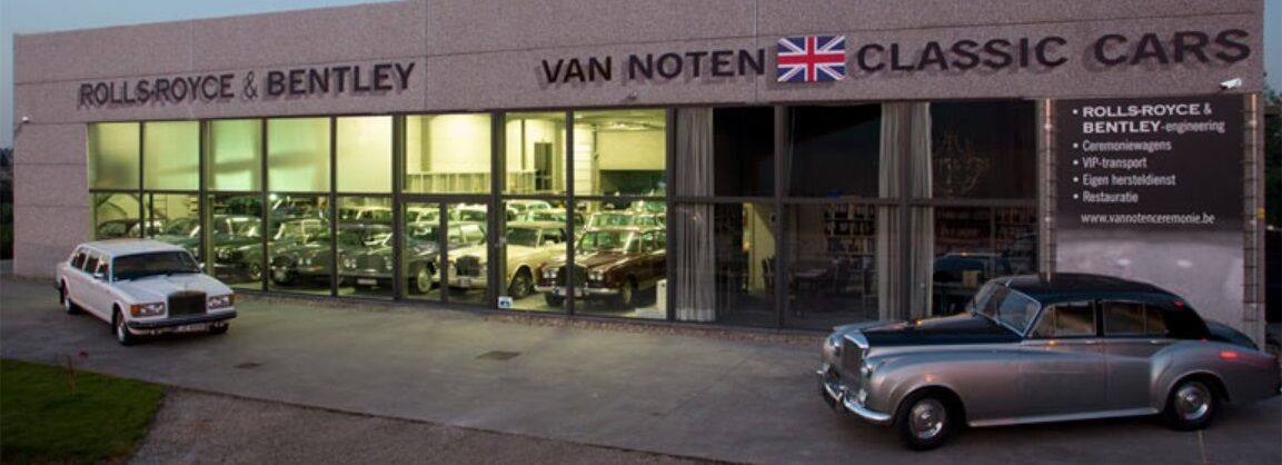 ROLLS-ROYCE & BENTLEY VAN NOTEN