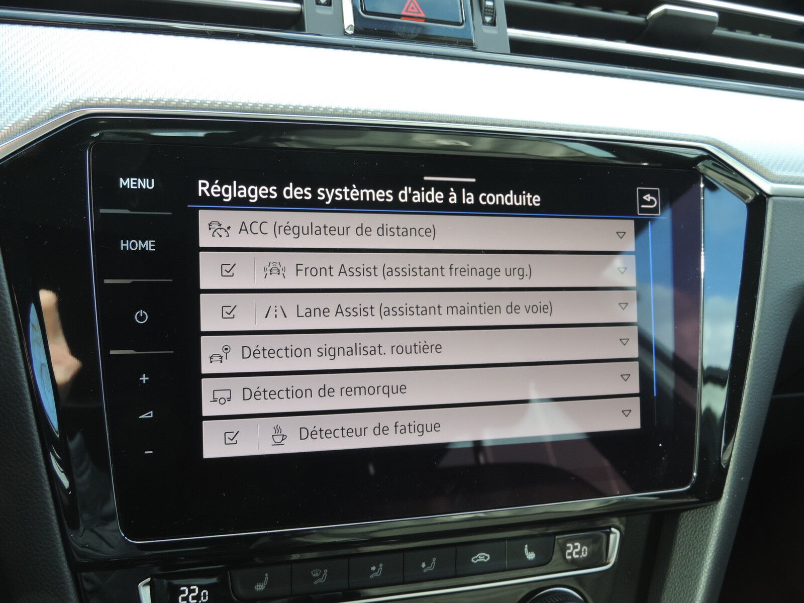 Volkswagen Passat Variant 2.0 TSI R-Line DSG CUIR GPS ACC LANE NEUVE 10/15