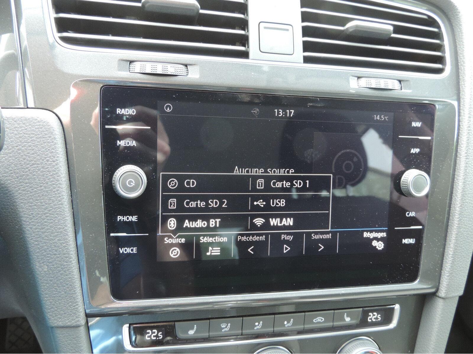 Volkswagen Golf 1.6 TDI R-LINE CLIMA REGUL ACC GPS LED NEUVE 12/15