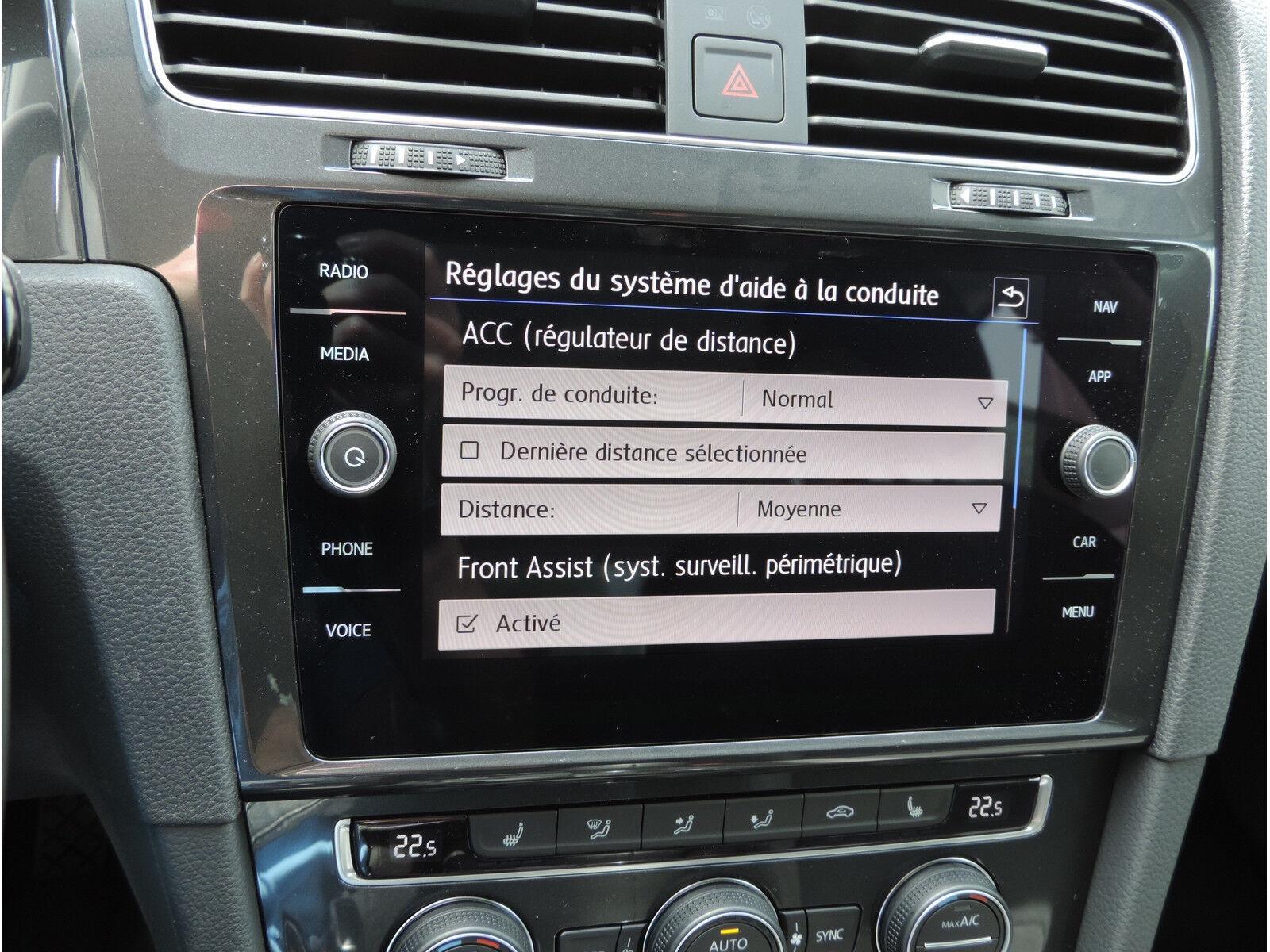 Volkswagen Golf 1.6 TDI R-LINE CLIMA REGUL ACC GPS LED NEUVE 11/15