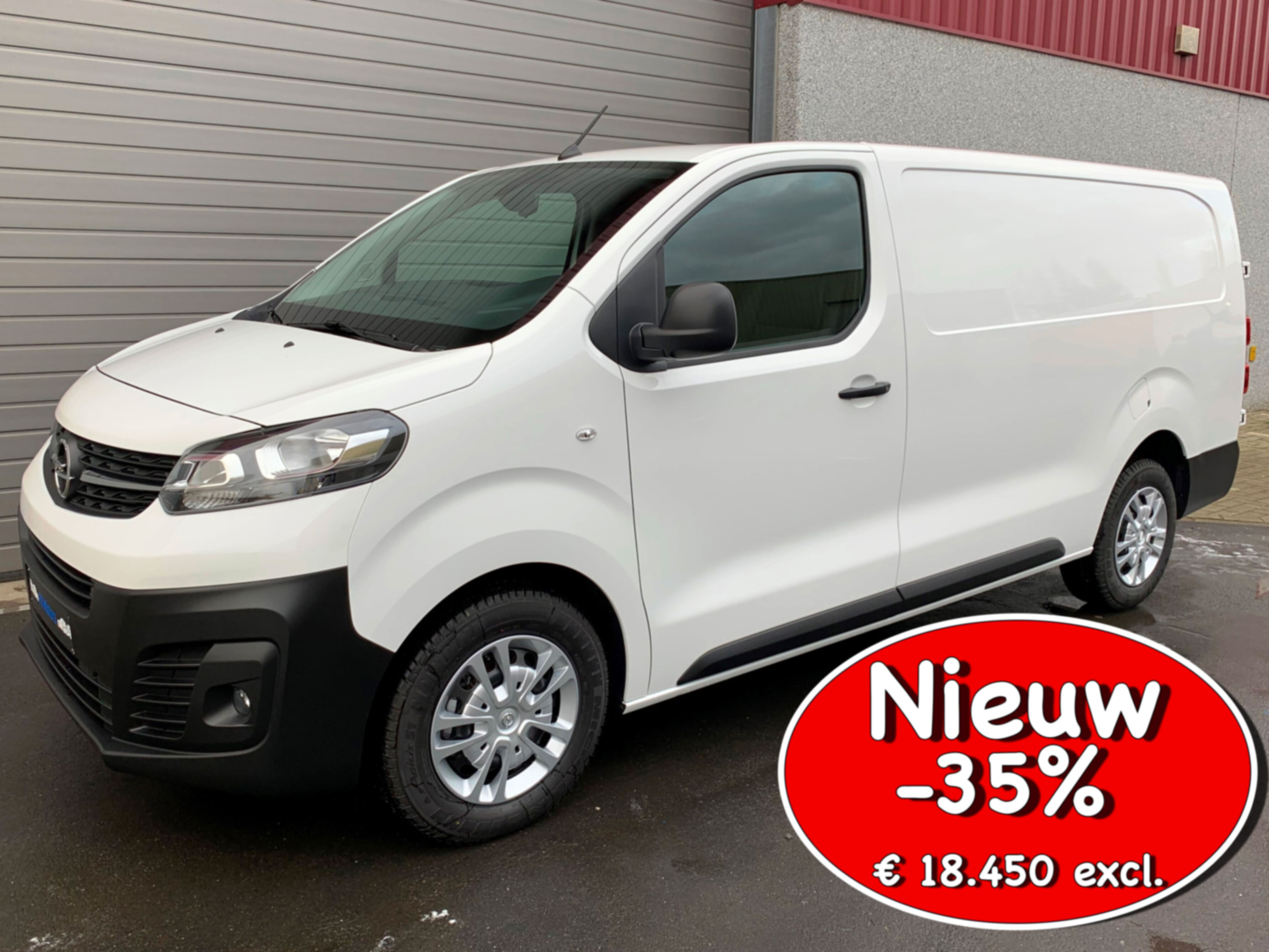 Opel Vivaro 2.0D 122PK Edition L3H1 NIEUW in stock 35% korting