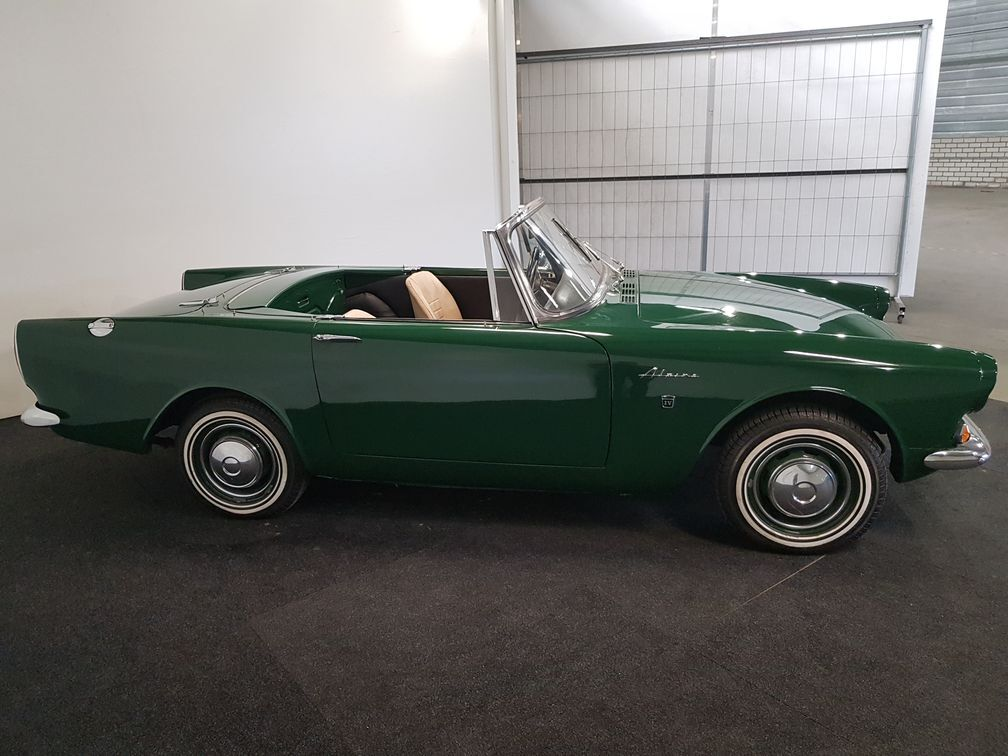 Other/Autre/Anders Other Sunbeam Alpine Cabriolet 1964 British Racing Green