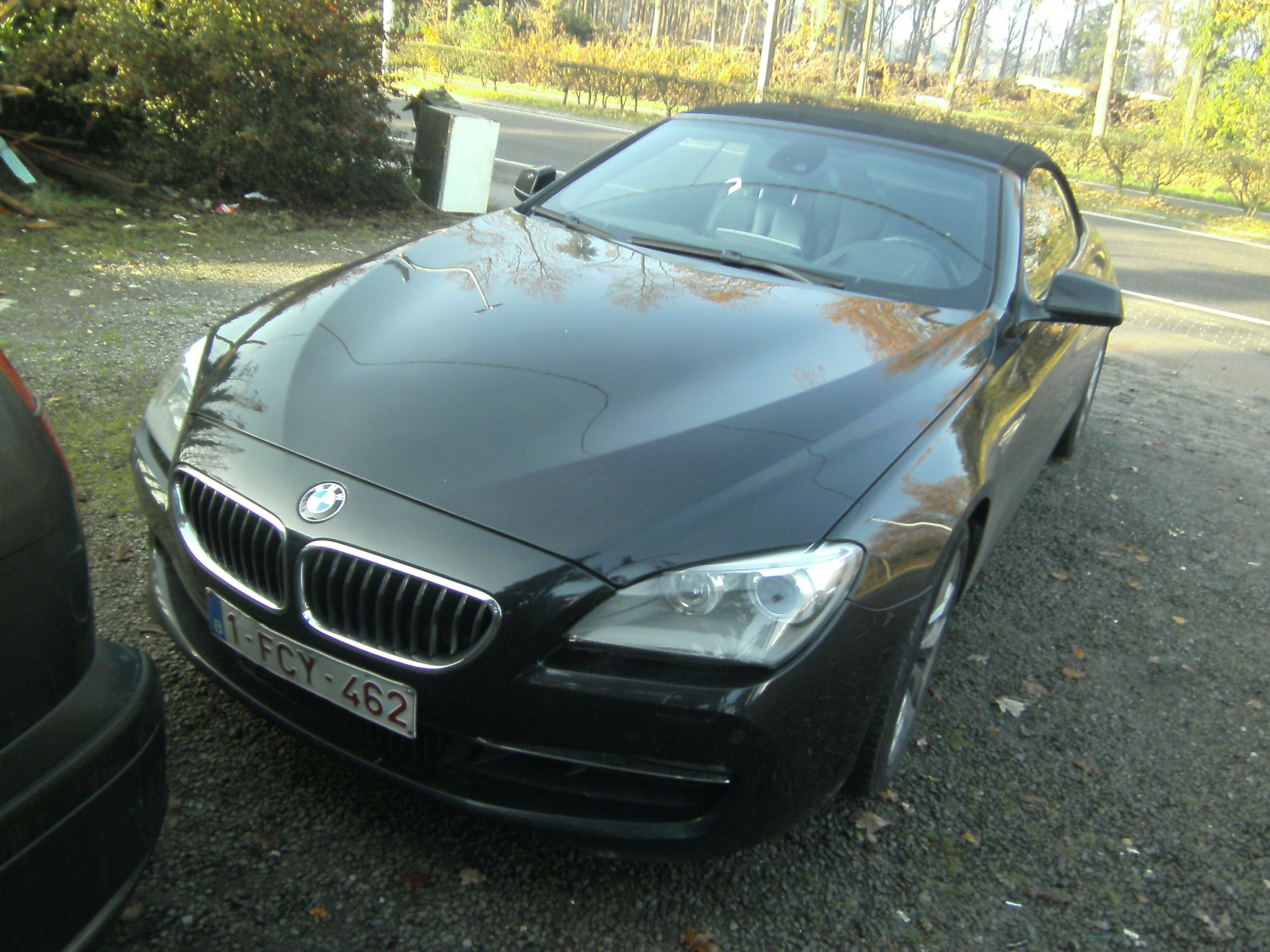 BMW 640 Convertible cabrio 3.0 benzine ,400 eur biv!!,105 dkm !!F.O.,29000 geen btw 2/5