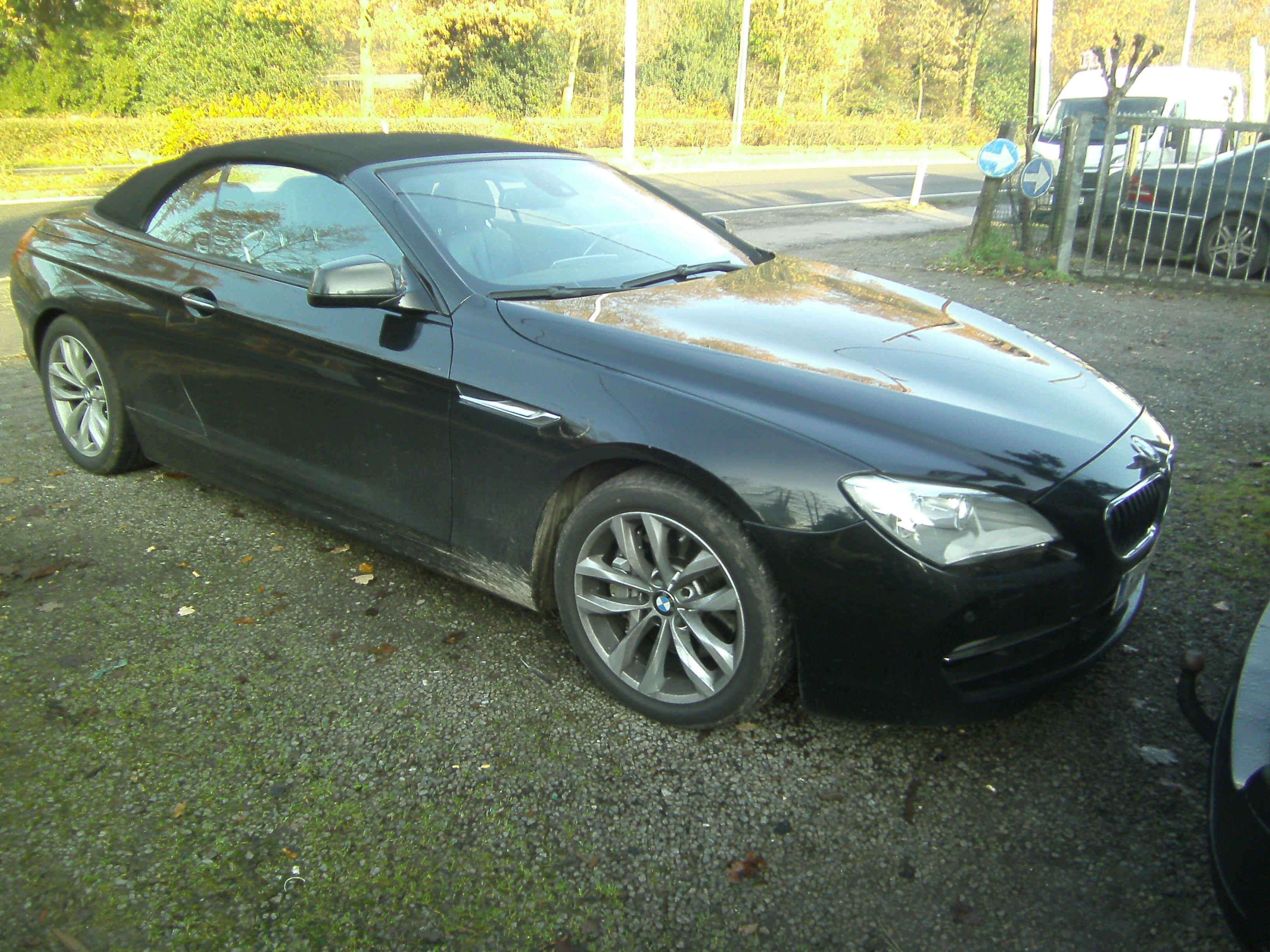 BMW 640 Convertible cabrio 3.0 benzine ,400 eur biv!!,105 dkm !!F.O.,29000 geen btw 3/5