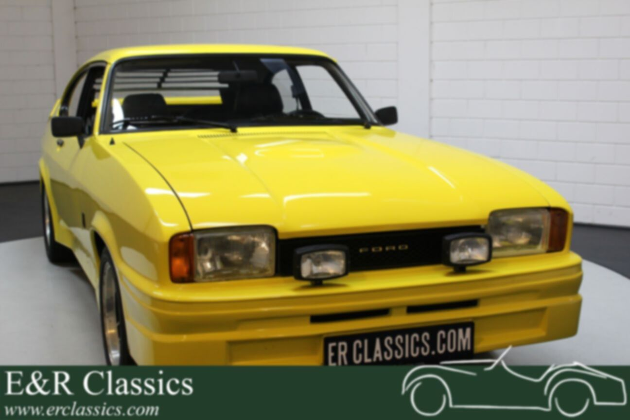 Ford Capri Ford Capri Mk2 2000 S V6 1977 Chiquita