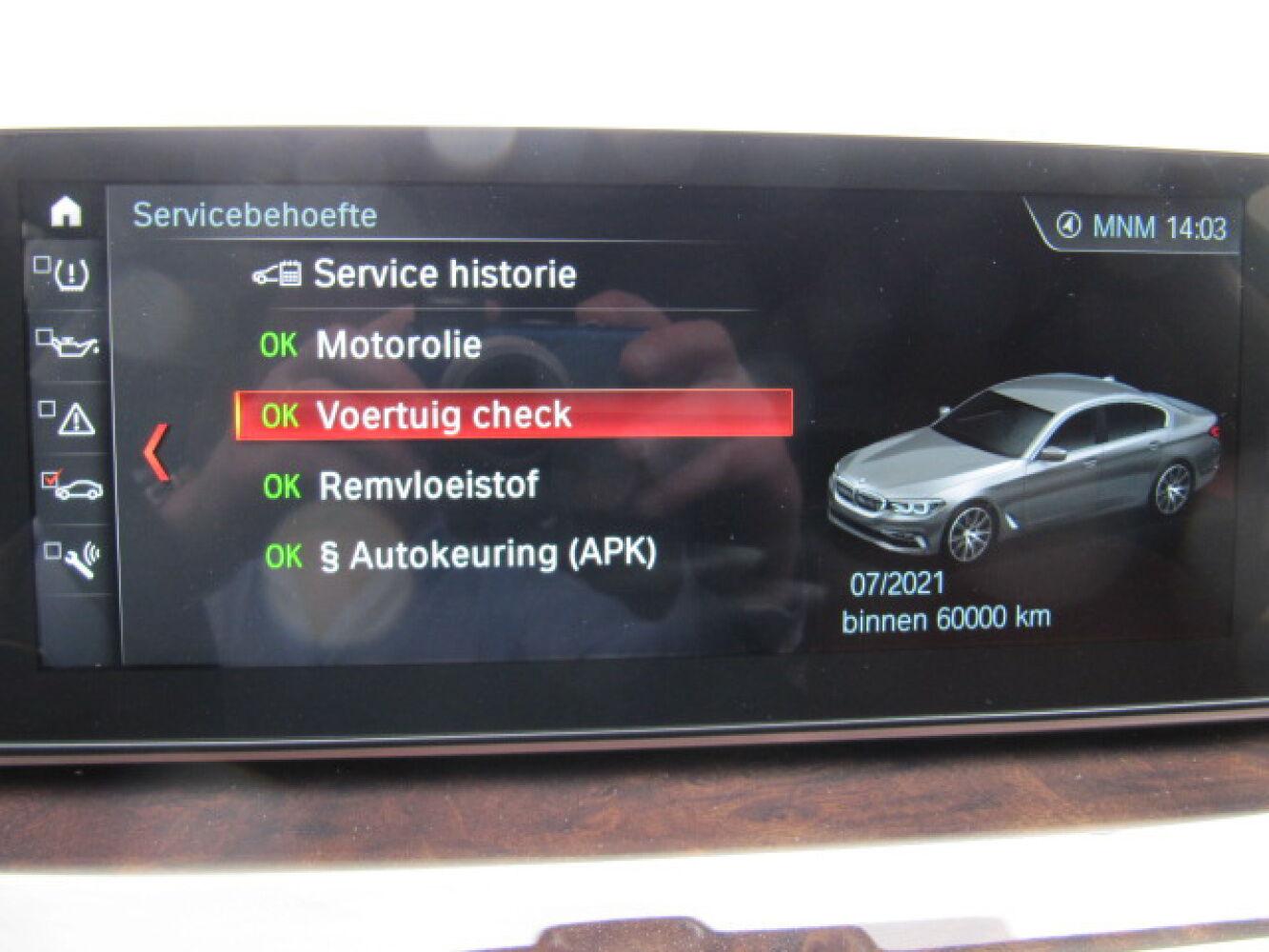 BMW 5 Reeks 540iA G30 Berline Luxury Line Full Option 24/27