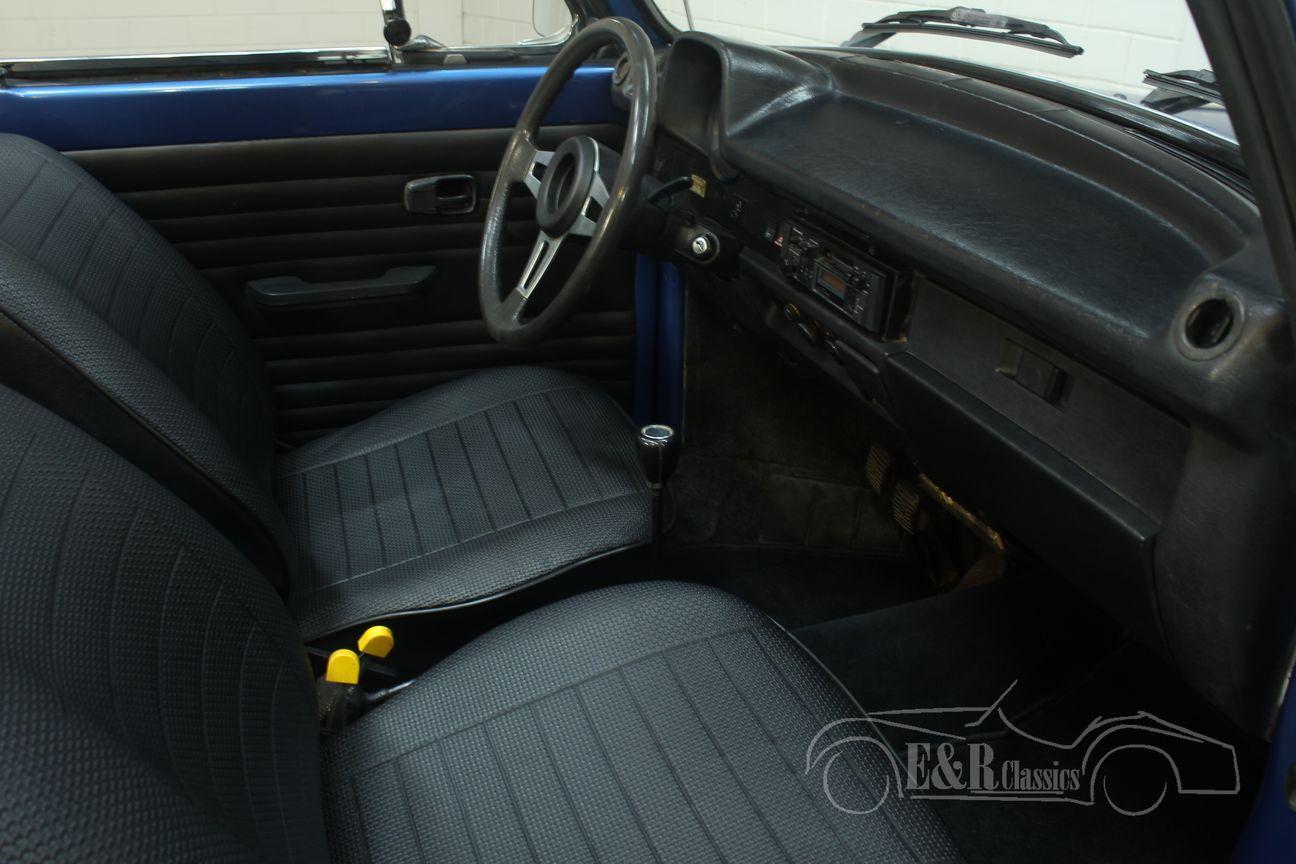 Volkswagen kever cabrio 1978 Ancona Blue Metallic 25/30