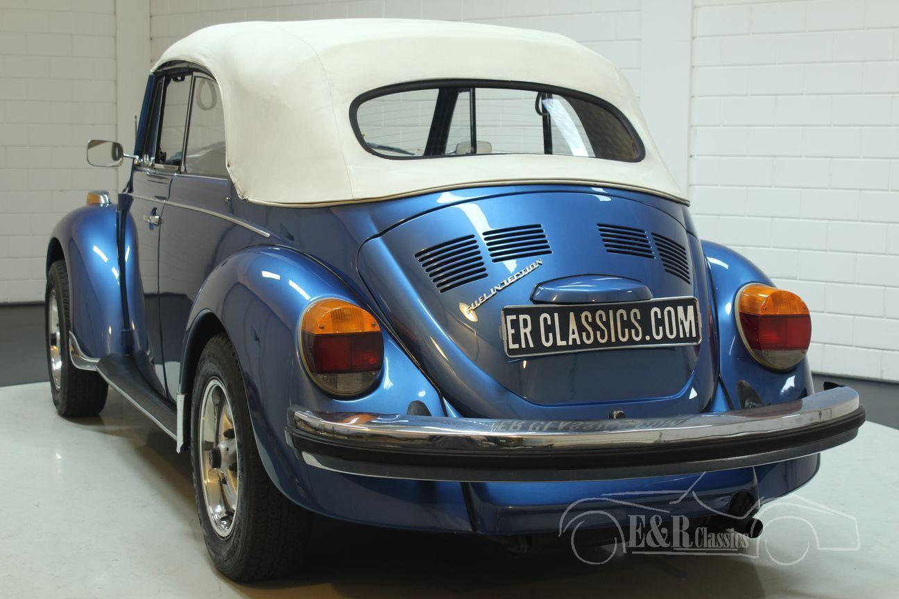 Volkswagen kever cabrio 1978 Ancona Blue Metallic 16/30