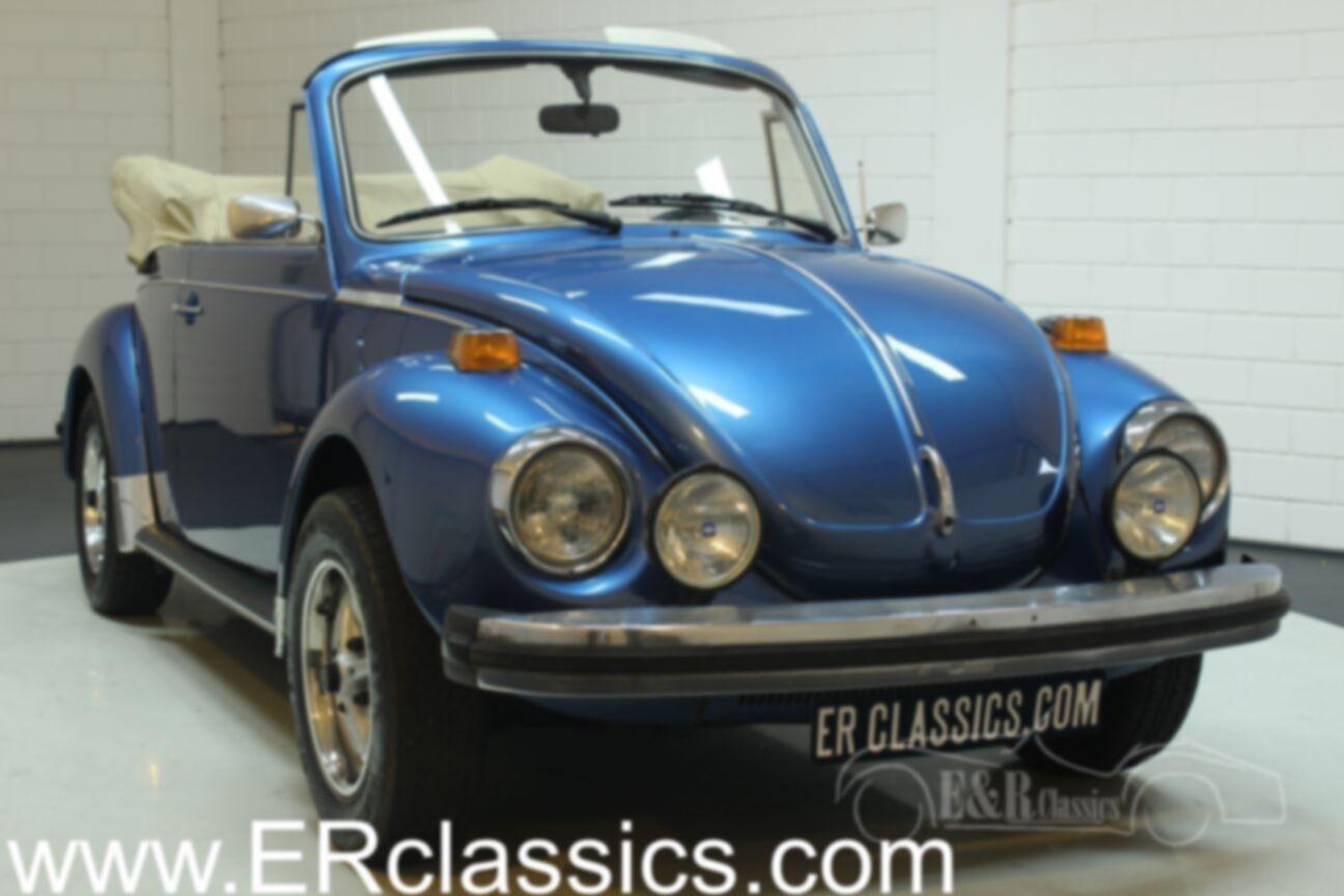 Volkswagen kever cabrio 1978 Ancona Blue Metallic