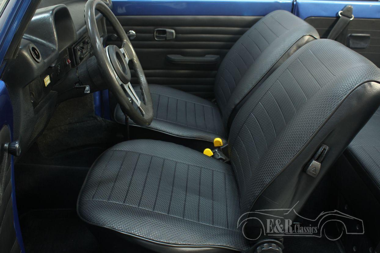 Volkswagen kever cabrio 1978 Ancona Blue Metallic 22/30