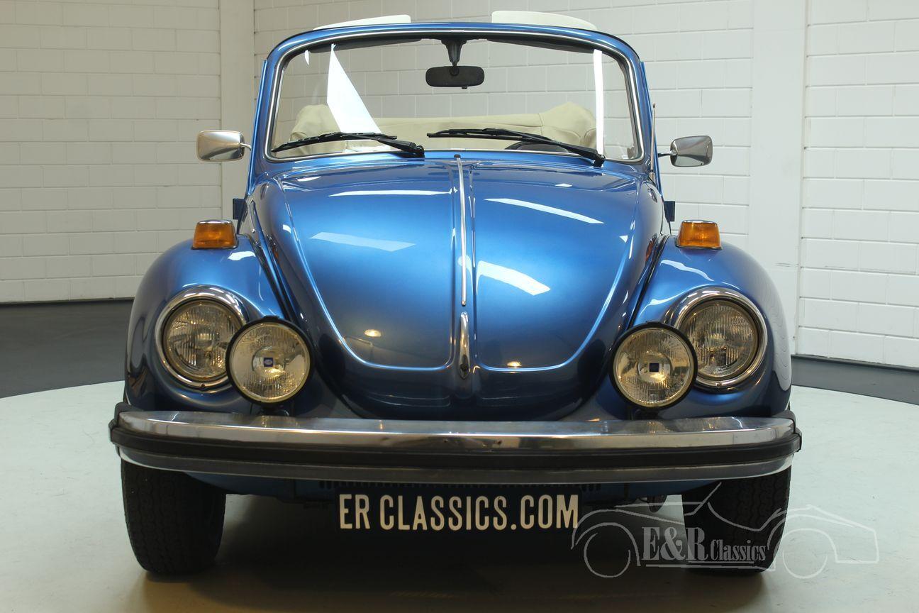 Volkswagen kever cabrio 1978 Ancona Blue Metallic 6/30
