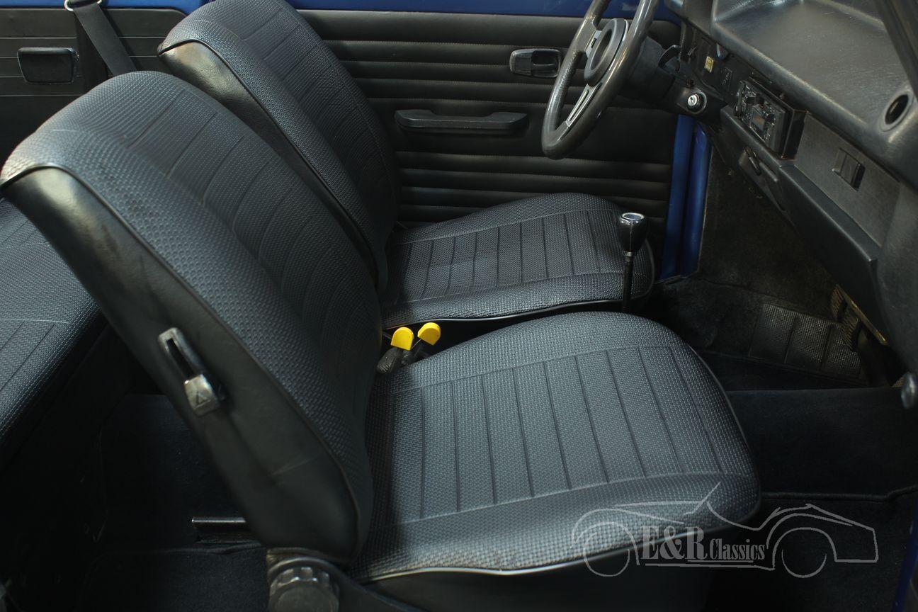 Volkswagen kever cabrio 1978 Ancona Blue Metallic 27/30