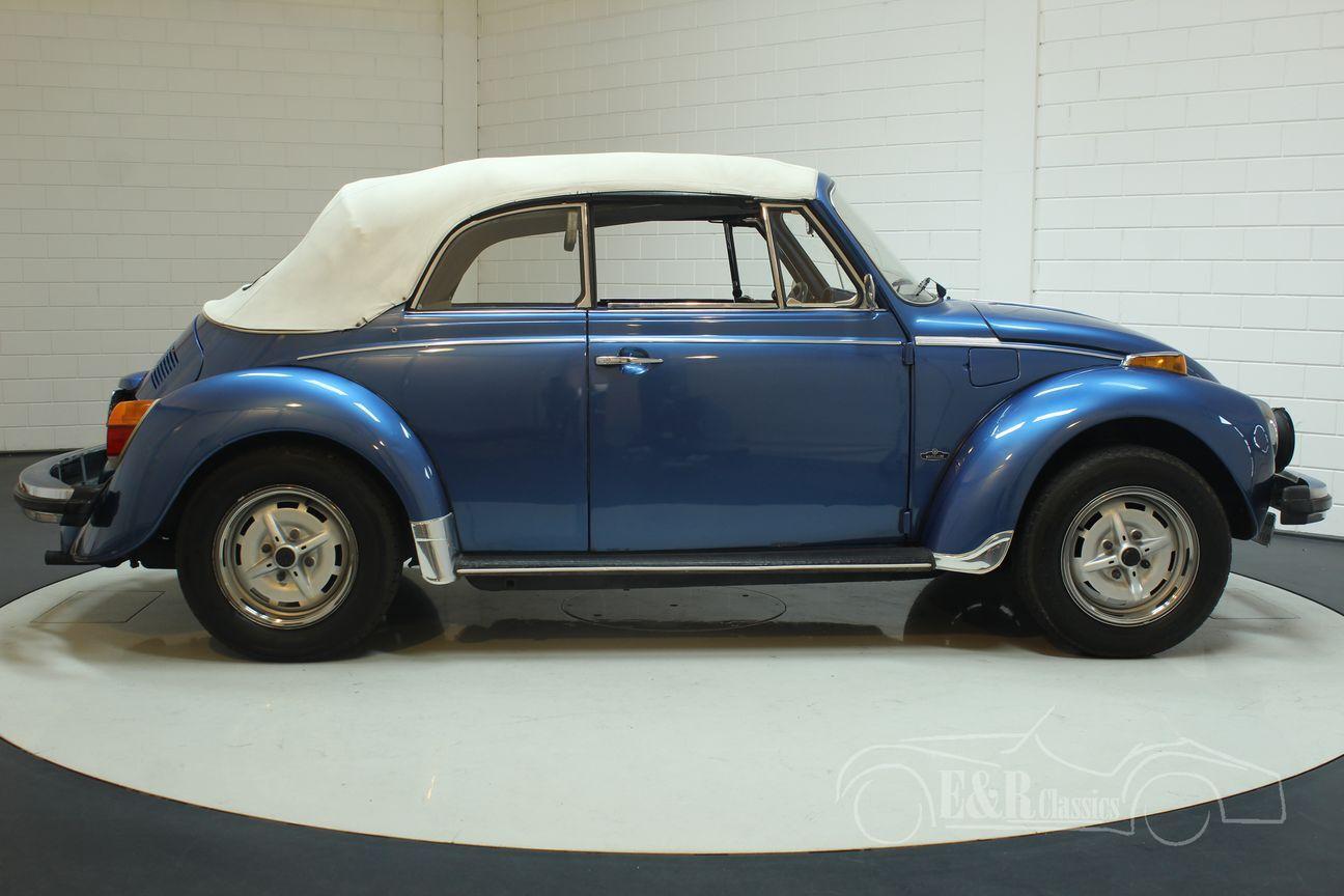 Volkswagen kever cabrio 1978 Ancona Blue Metallic 18/30