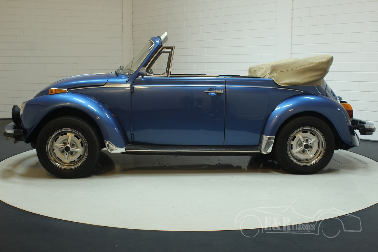 Volkswagen kever cabrio 1978 Ancona Blue Metallic 9/30