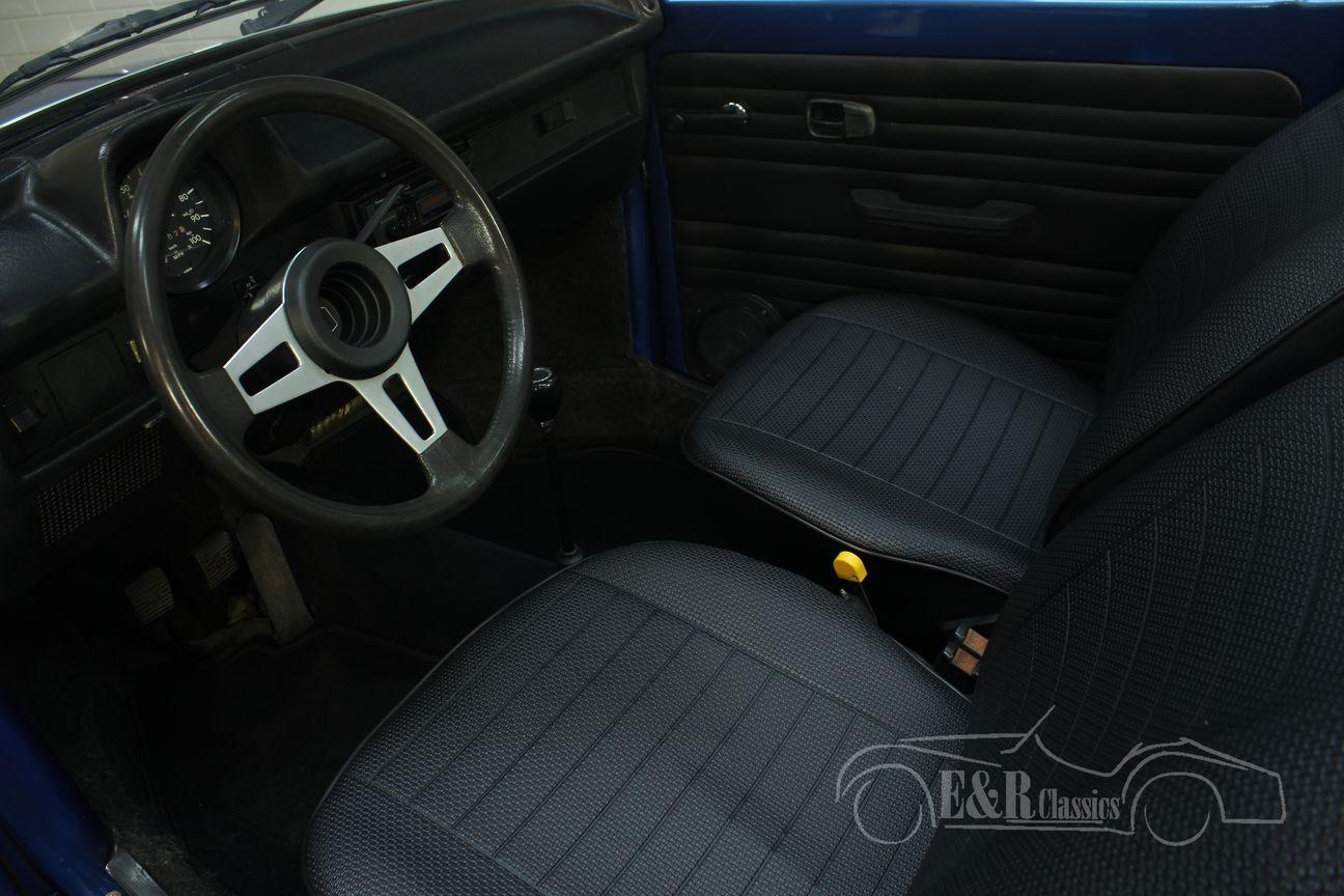 Volkswagen kever cabrio 1978 Ancona Blue Metallic 3/30